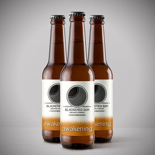 awakening ipa bottle blackened sun brewing company
